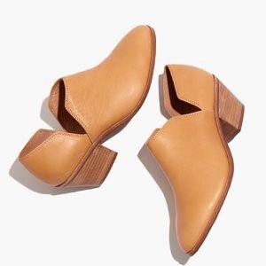NIB  Madewell Gloria Shoe Boot in Leather